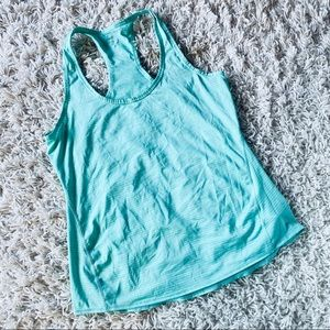 Athleta Green Athletic Top